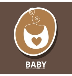 baby icon design vector image
