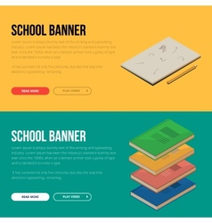 concepts education and vector image