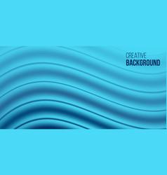 Creative wave background vector