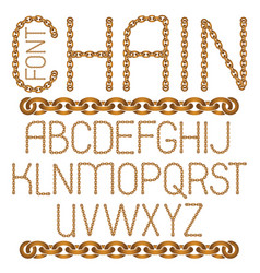 english alphabet letters collection capital vector image