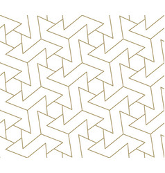 modern simple geometric seamless pattern vector image