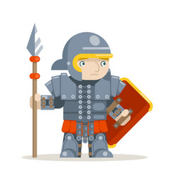 praetorian guard roman legionare warrior fantasy vector image