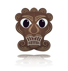 Traditional Hawaiian mask vector
