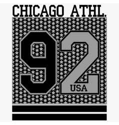 Chicago t-shirt vector