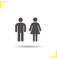 Couple icon vector