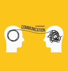 Creative psychotherapy vector
