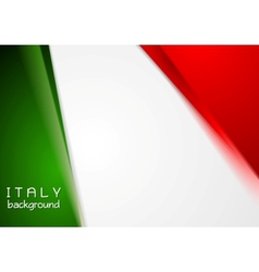 Elegant bright abstract background Italian colors vector image