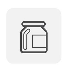 garnish bottle icon vector image