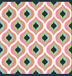 Geometric abstract seamless pattern background vector