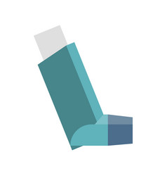 inhaler vector image