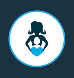 Nanny icon colored symbol premium quality vector