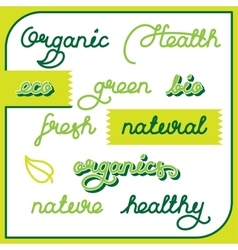 Natural labels set vector