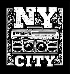 ny city vector image