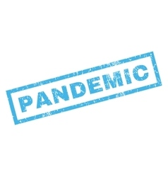 Pandemic Rubber Stamp vector image