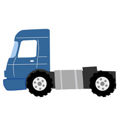 road truck vector image