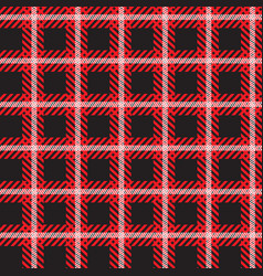 seamless tartan pattern checkered plaid vector image