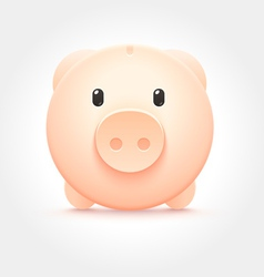 Piggy Money Box Icon vector image vector image