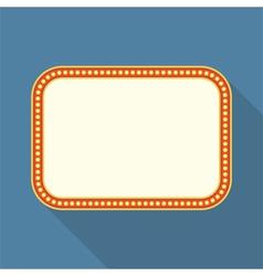 Flat Retro Banner vector