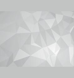 gray geometric design vector image