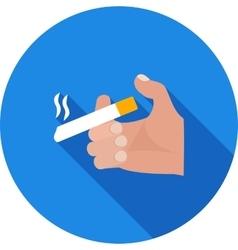 Holding Cigarette vector