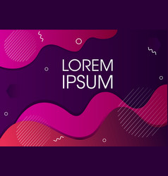 modern abstract background design vector image