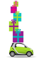 Small Car Gifts vector image