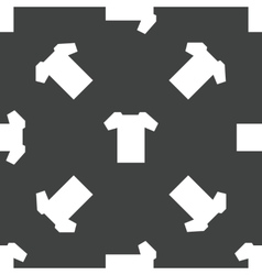 T-shirt pattern vector image