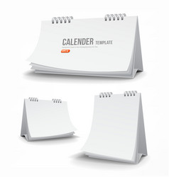 Calender template collections vector image vector image