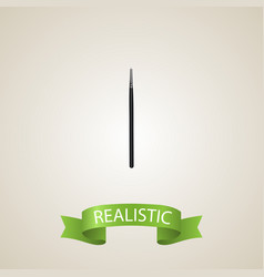 realistic blending brush element vector image vector image