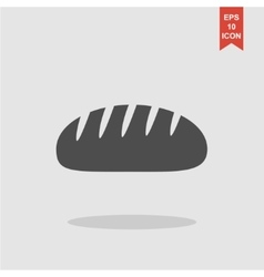bread icon Design style eps 10 vector image vector image