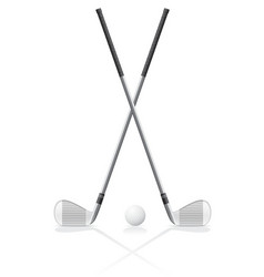 golf 37 vector image
