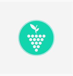grape icon sign symbol vector image