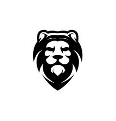 lion king logo vector image