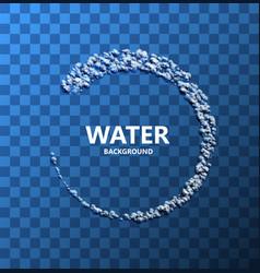 Modern creative water background vector