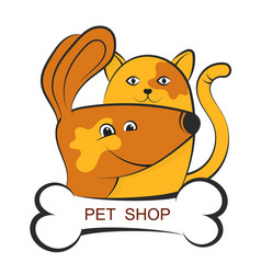shop for pets vector image
