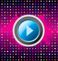 play disco vector image vector image