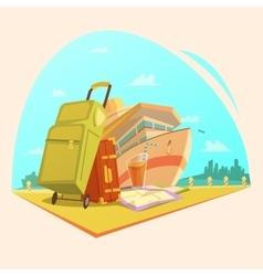 Voyage cartoon concept vector