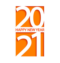 2021 new year banner vector