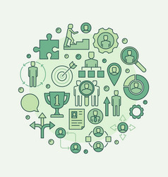 career green vector image