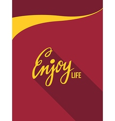 Enjoy Life vector