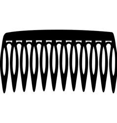 Hair comb vector