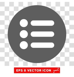 Items Round Eps Icon vector