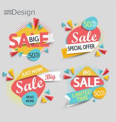 Sale - set labels vector