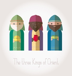 The Three Kings of Orient wiremen vector
