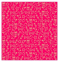 Valentine's Day pattern vector
