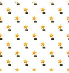 award star pattern vector image