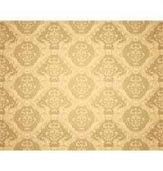 Brown Seamless wallpaper pattern vector image vector image