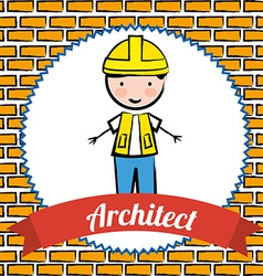 Architect design vector