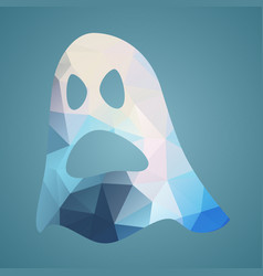 ghost of triangles vector image