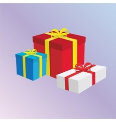 Gift Boxes Presents vector image